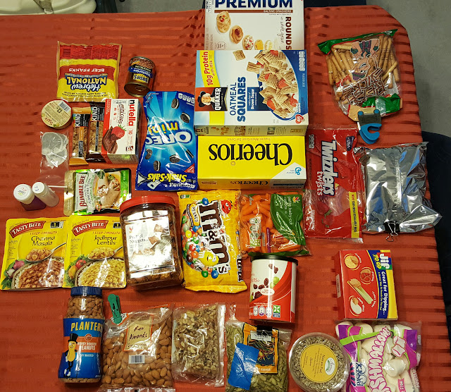 Ben's Journal: Let's Eat: Food For A 3 Day Backpacking