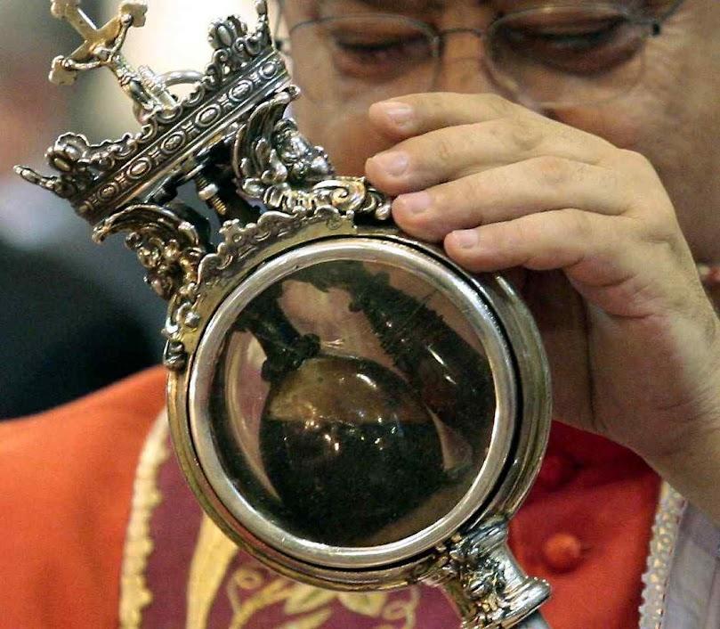 O sangue de São Januário liquefeito