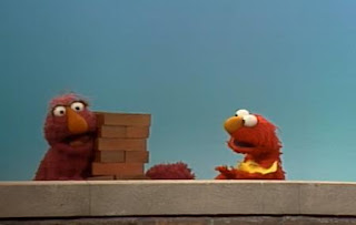 Telly and Elmo sing Heavy and Light. Sesame Street The Best of Elmo