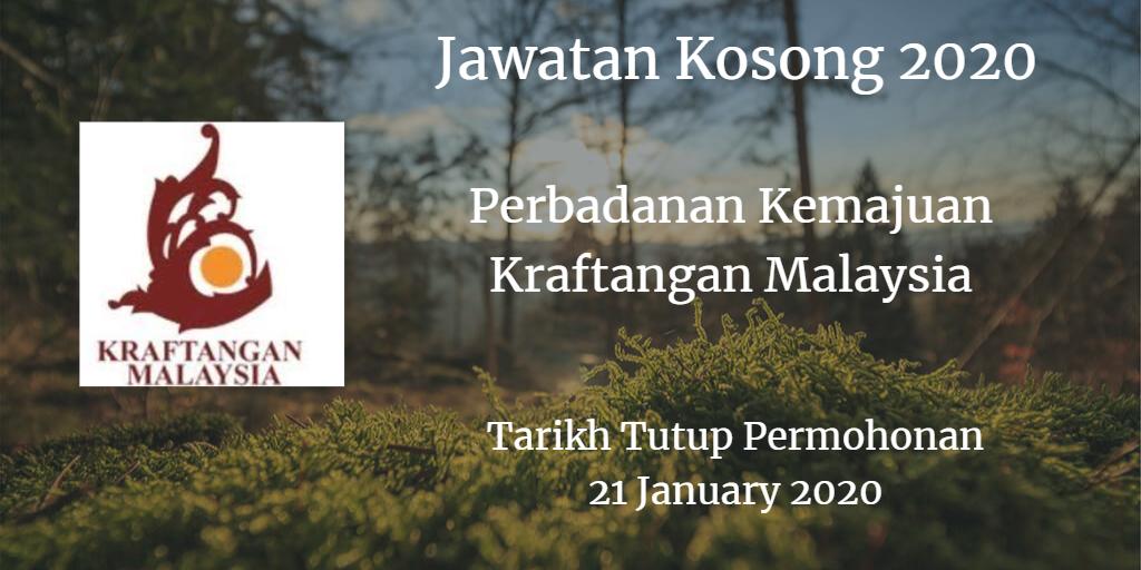 Jawatan Kosong PKKM 21 January 2020
