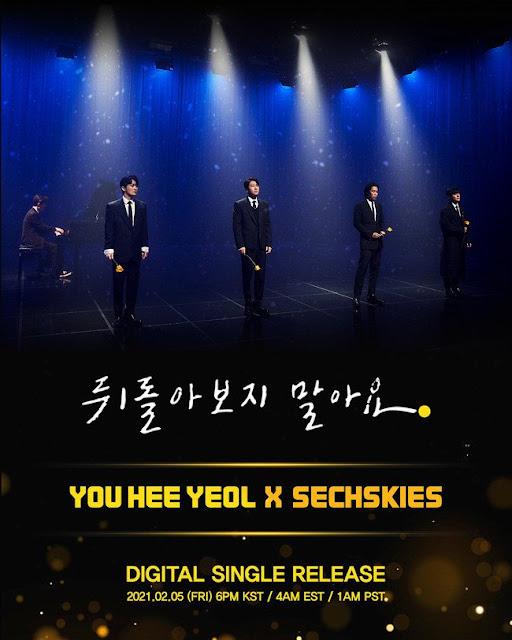 sechskies don't look back single yoo hee yeol