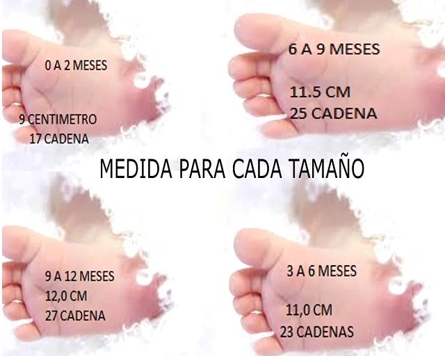 ZAPATITO DE BEBE DE 3 A 6 MESES