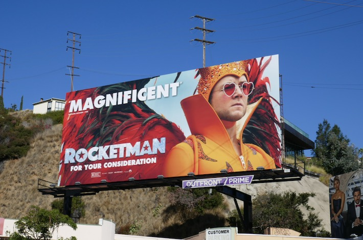 Rocketman For your consideration billboard