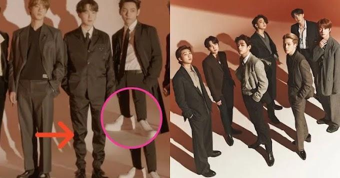 يتعرض مصممو BTS للانتقاد بسبب الملابس الكبيرة اخبار بي تي اس