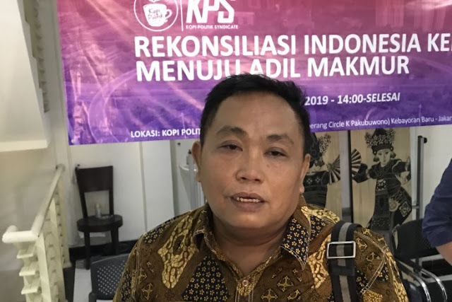 Arief Poyuono: Pertemuan Jokowi - Prabowo Bisa Satukan Cebong dan Kampret