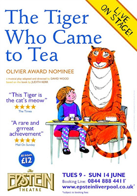 The Tiger Who Came to Tea Liverpool Epstein Theatre