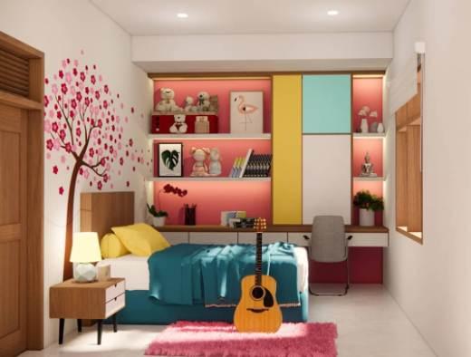 Kamar anak rumah type 36 desain minimalis modern