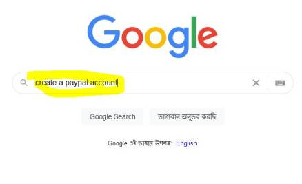 searching create a paypal business account