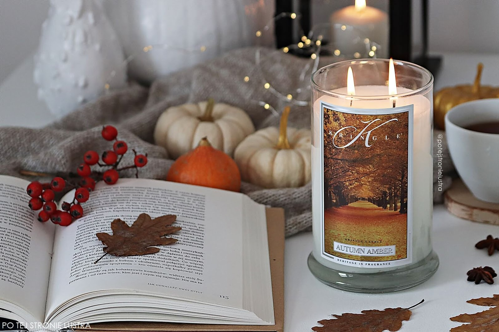 kringle candle autumn amber blog recenzja