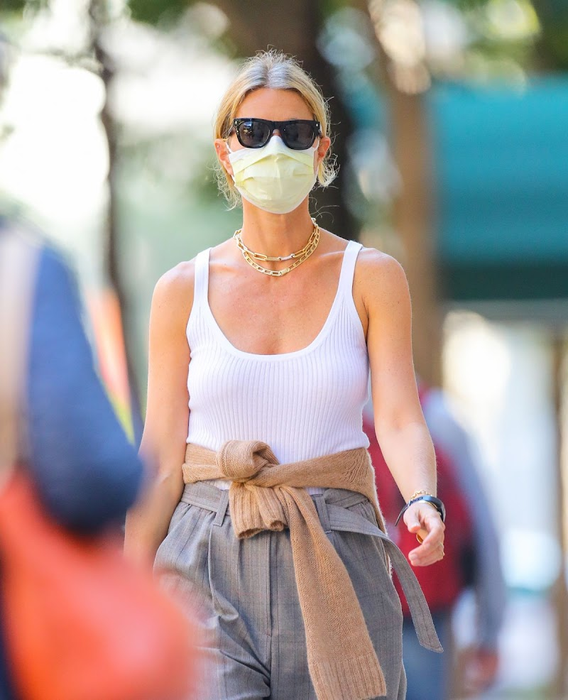 Gwyneth Paltrow Clicked Outside in New York 8 OCt -2020