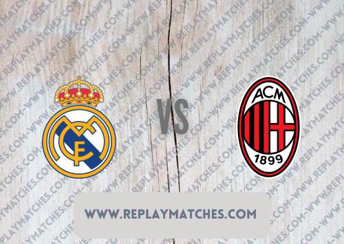 Real Madrid vs AC Milan -Highlights 08 August 2021