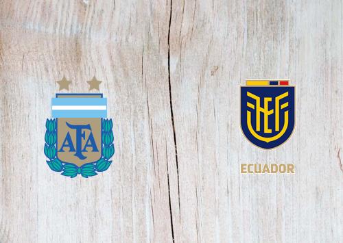 Argentina vs Ecuador -Highlights 09 October 2020