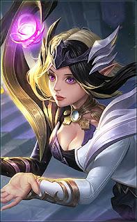 Lunox Twilight Goddess Heroes Mage of Skins V3