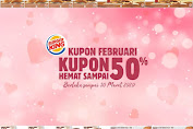 20 Kupon Gratis BURGER KING Kupon Hemat Terbaru 1 Februari - 31 Maret 2020