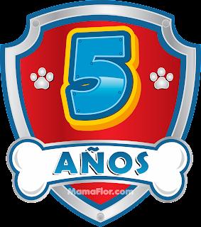 Cumpleaños de 5 años de la Patrulla Canina