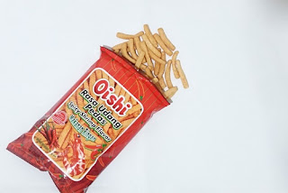 Oishi Cracker Udang