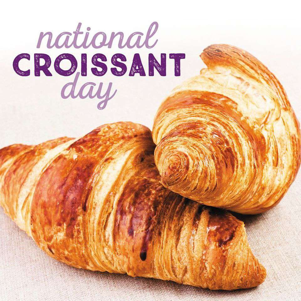 National Croissant Day Wishes Images