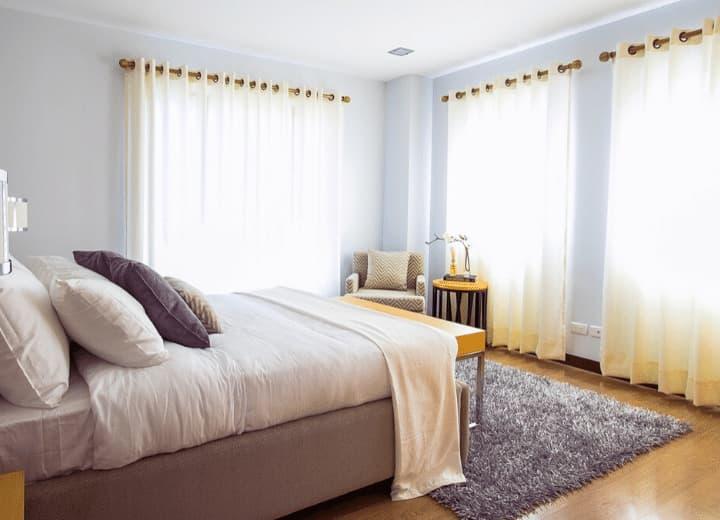 quarto decorado pelo feng shui