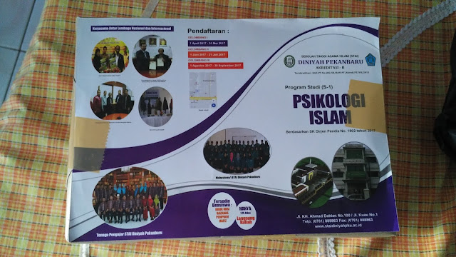Brosur Promosi Kampus Psikologi Islam