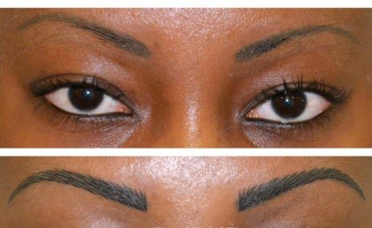Maquillage permanent des sourcils Technique poil par poil
