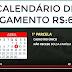 Confira o calendário de pagamento do auxílio