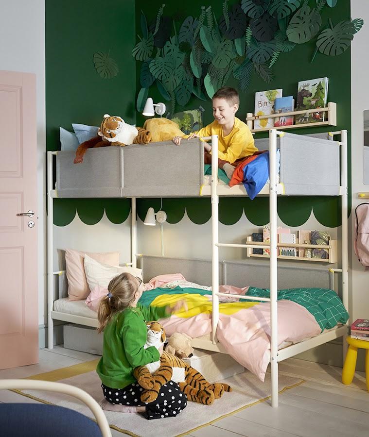 Nuevo catálogo IKEA 2020. Literas niños