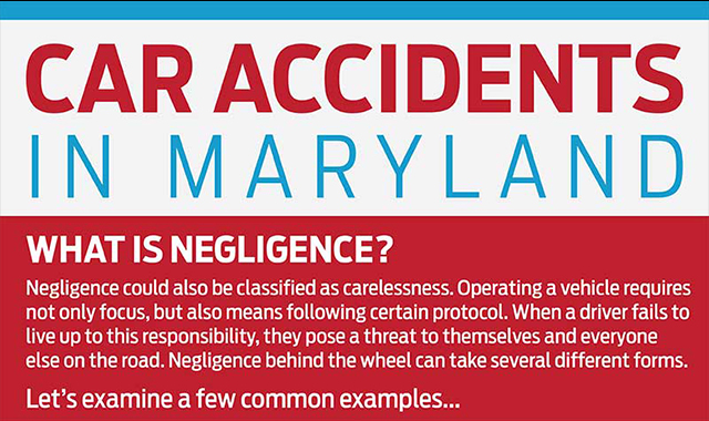 Maryland Car Accidents #infographic