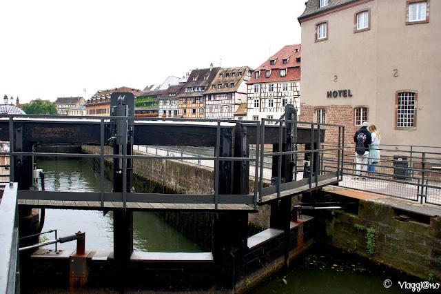 I canali delle chiuse di Strasburgo