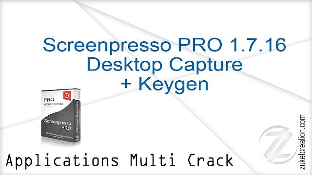 Screenpresso PRO 1.7.16 Desktop Capture + Keygen