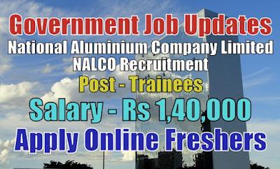 NALCO Recruitment 2020
