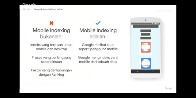 Apa Itu Mobile Indexing?