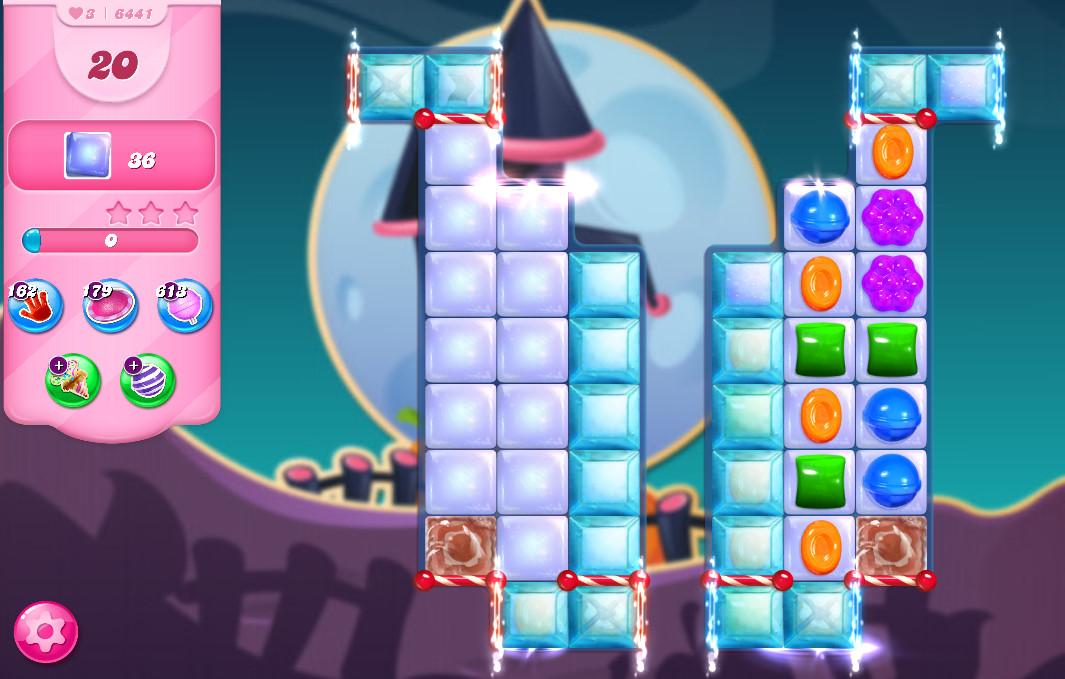 Candy Crush Saga level 6441