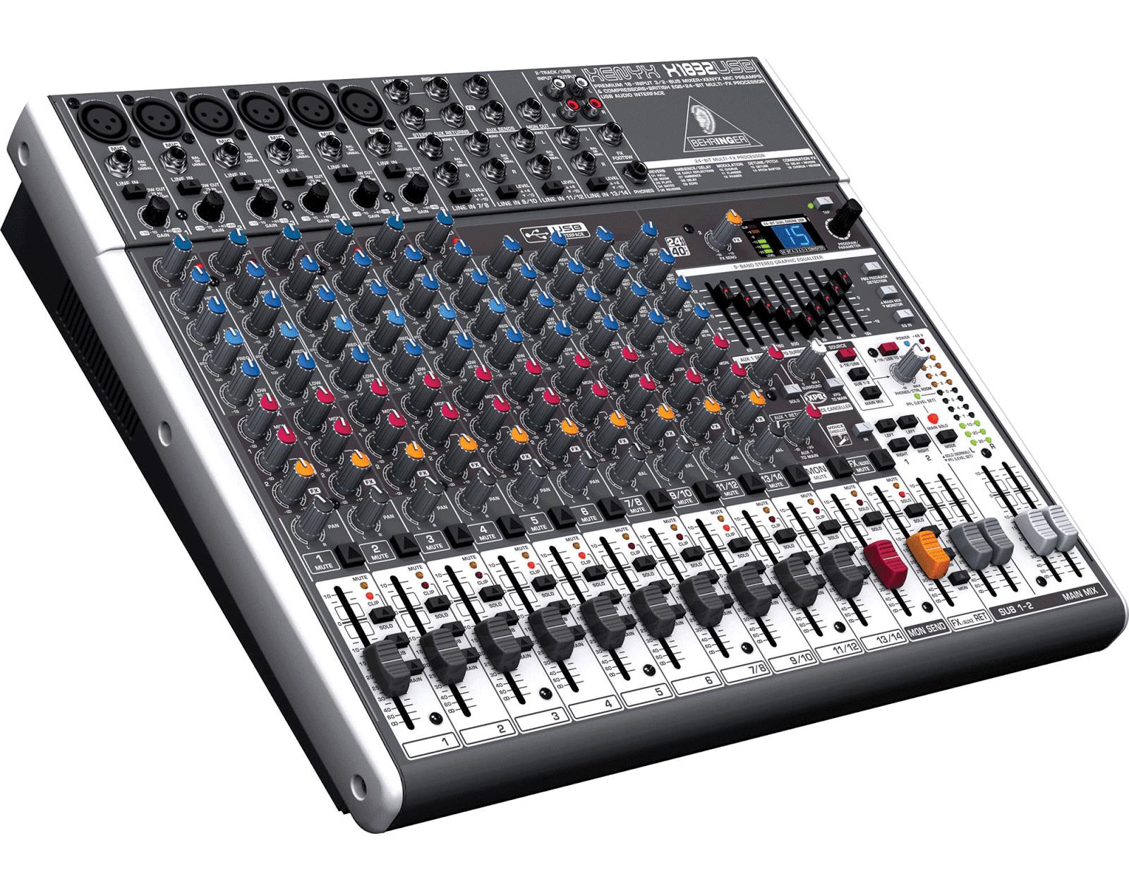 Harga Mixer Audio Behringer 6 Channel Monaural Dibawah 5 Juta