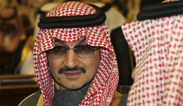 O príncipe Alwaleed bin Talal é visto como uma ameaça na linha de sucessão do atual príncipe herdeiro.