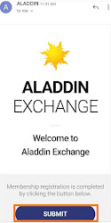 aladdin exchange airdrop loot trick