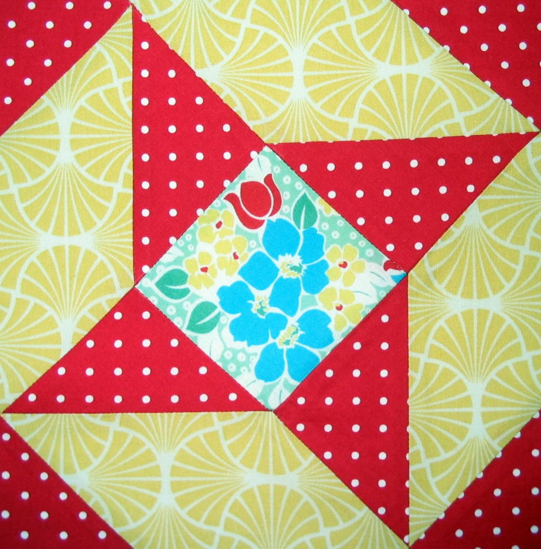 Patchwork Quilting Patterns For Beginners: Starwood Quilter: Beginner's Delight Quilt Block