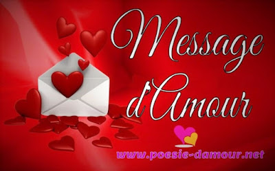 Image illustrant un beau message d'amour