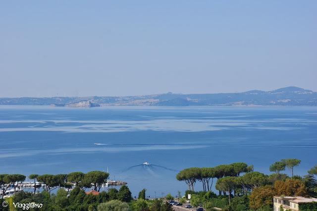 Il Lago di Bolsena è il quinto in Italia e si trova nel Lazio