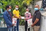 Jumat Barokah, Ketua Pewarta Bantu Wartawati di Medan