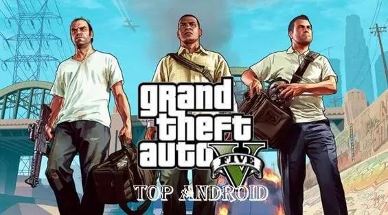 تنزيل لعبة GTA 5 APK Grand Theft Auto V للاندرويد من ميديا فاير اخر اصدار