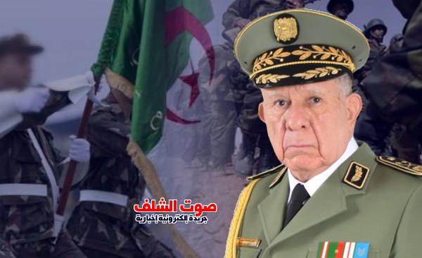 """شنقريحة : """" المؤسسة العسكرية لن تحيد عن نهج الفقيد أحمد قايد صالح"""""""