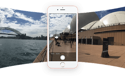 Cara Membuat Foto 360 Derajat di HP Android