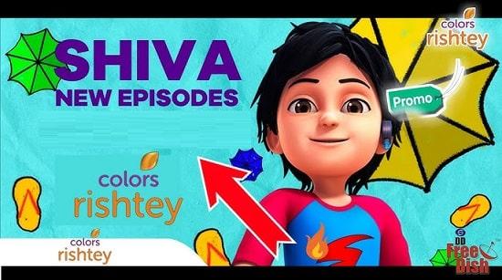 Shiva on Colors Rishtey