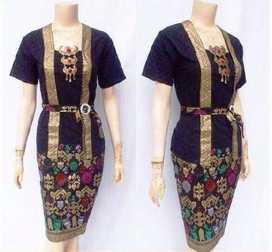 Model Kebaya Batik Modern Wanita Untuk Pesta