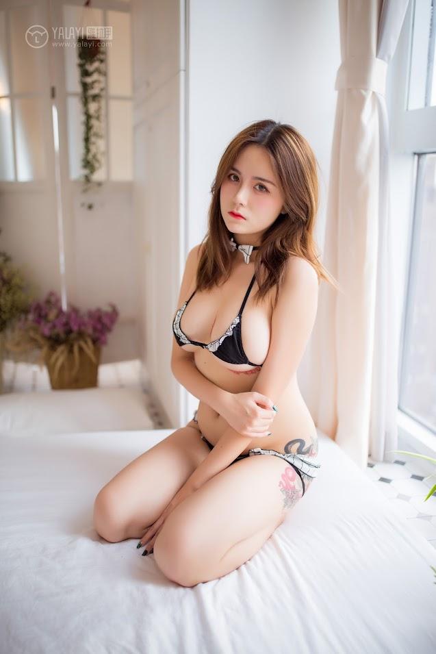 YALAYI雅拉伊  2018.10.16 NO.090 喜爱日蒲 热莎莎 - idols