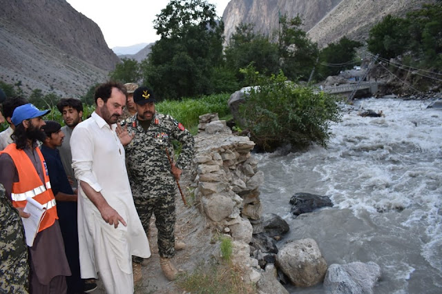 Heavy Flood - 158 people rescued in Golon area of Chitral following floods