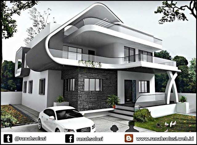 Gambar Rumah Minimalis 2 Lantai Terbaru