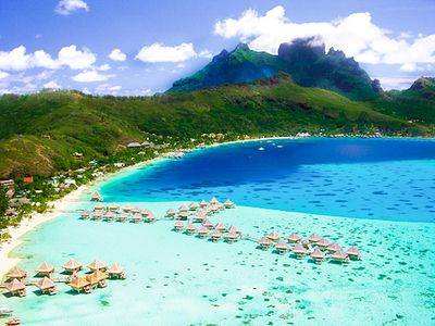 Bora Bora, Amazing French Polynesia.