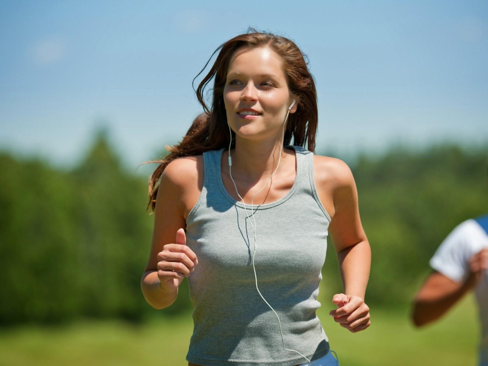 Cara Melangsingkan Tubuh, olah raga, tubuh langsing alami