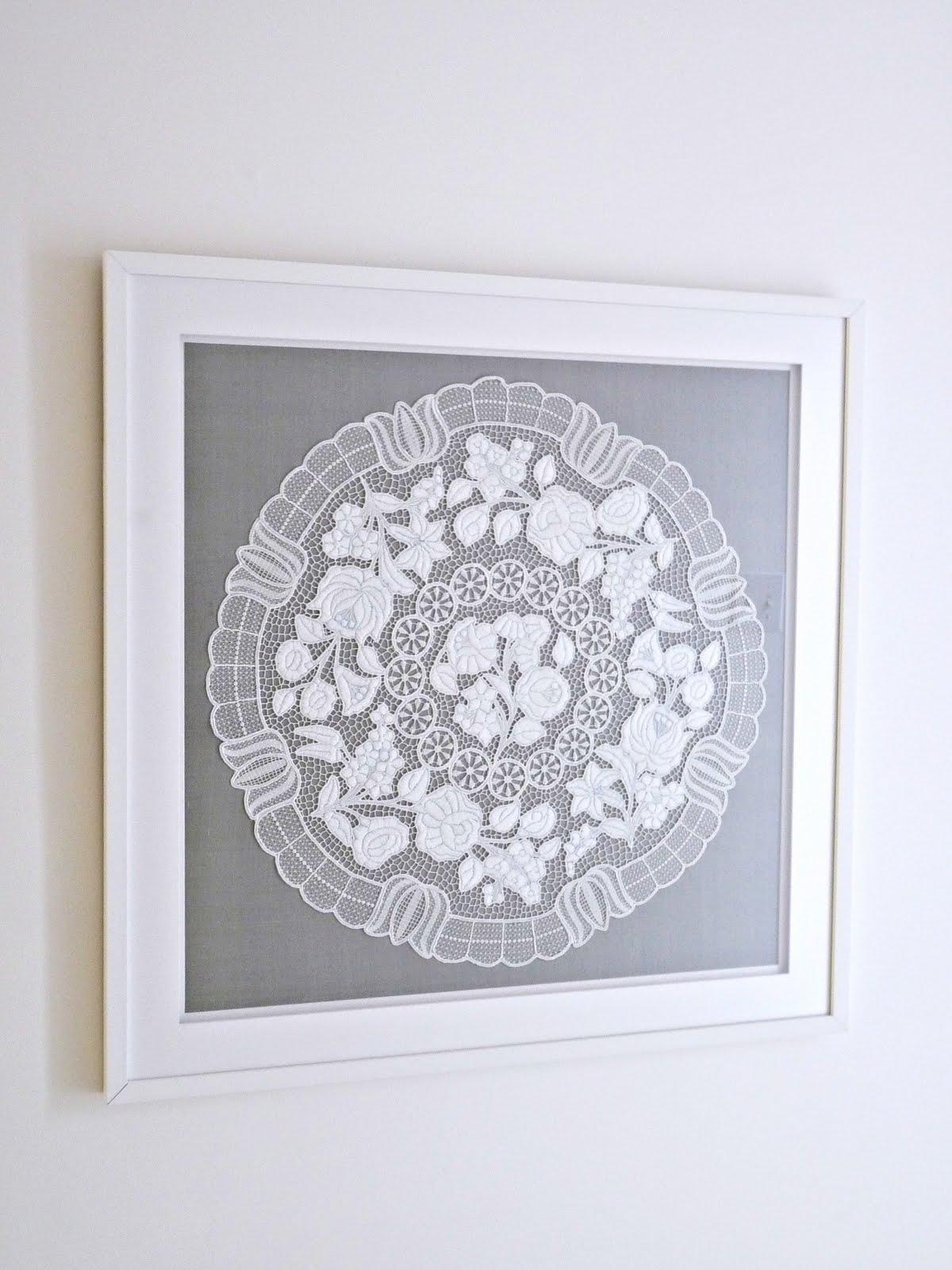 All White Kalocsa Embroidery